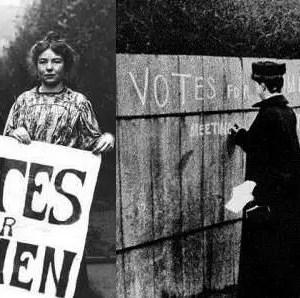 diritto di voto alle donne