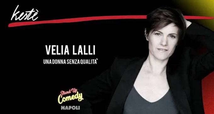 Velia Lalli -Una donna senza qualità -Intervista