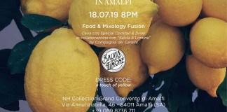 Yellow Night in Amalfi