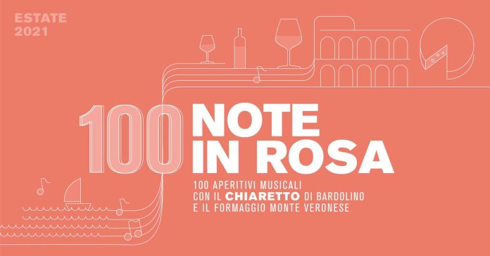 100 note in rosa