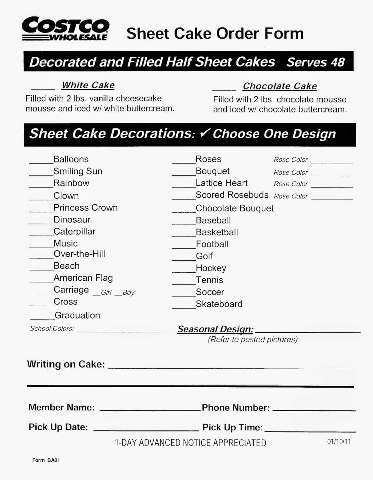 Types Vanilla Cakes