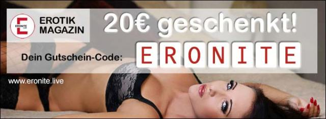 20€ Live-Cam voucher with free registration + free access to amateur videos!