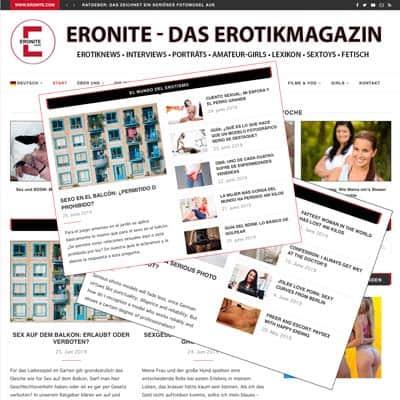 Noticias eróticas en tres idiomas