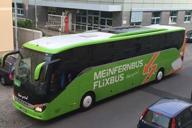 Bus verwechselt - Flixbus statt Wichsbus