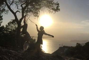 Mallorca Bondage • Rope-Art Helga Unterwasser