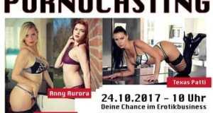 Pornocasting mit Texaspatti, Anny Aurora und Dirty Tina