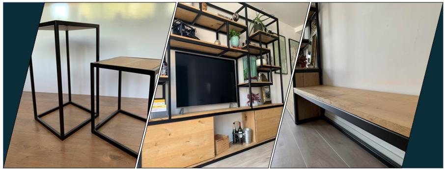 Interieurtips - staal en hout