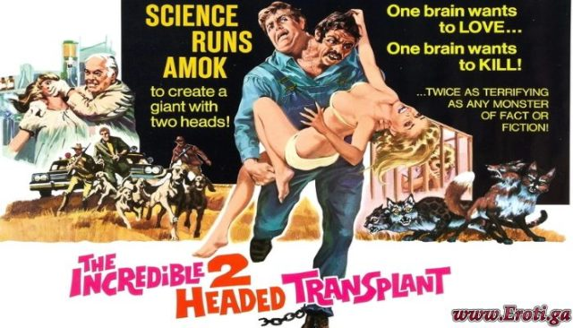 The Incredible 2-Headed Transplant (1971) watch online