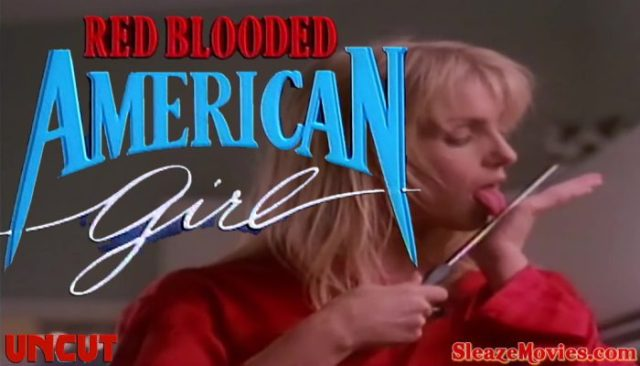 Red Blooded American Girl (1990) watch uncut