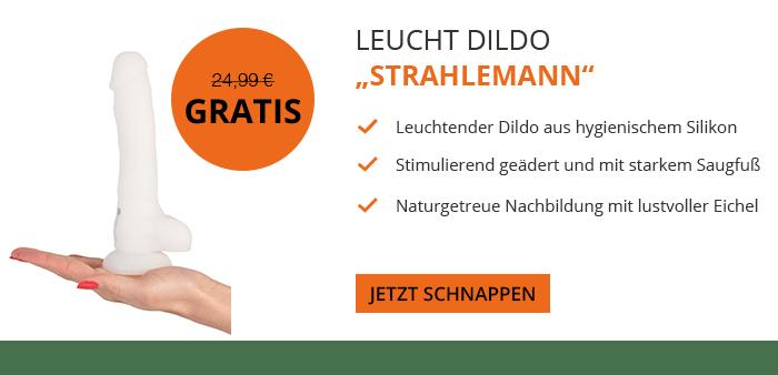 Venize.de Halloween Aktionsangebot - GRATIS Strahlemann Dildo statt 24,99 Euro