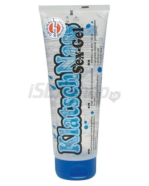 Eroticmania KlatschNass lubrikačný gél s perličkami 240 ml