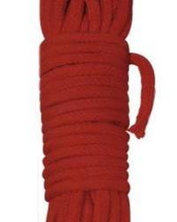 Shibari Bondage lano 10 m - červené