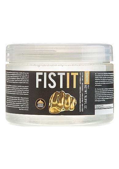 Fist-it Jar Fisting lubrikačný gél 500 ml