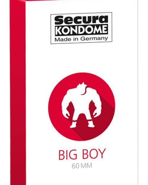 Secura kondómy Big Boy 60 mm 12 ks