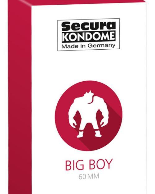 Secura kondómy Big Boy 60 mm 24 ks
