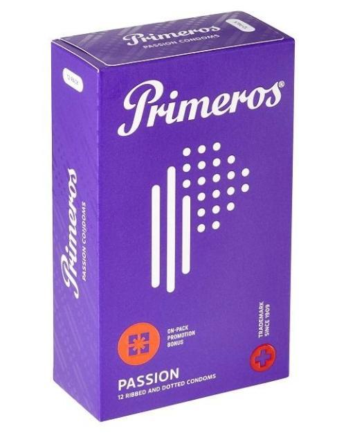 Primeros Passion kondómy 12 ks
