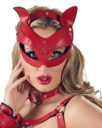 Bad Kittymačacia maska červená