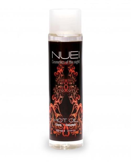 NUEI Hrejivý masážny olej Kokos 100 ml