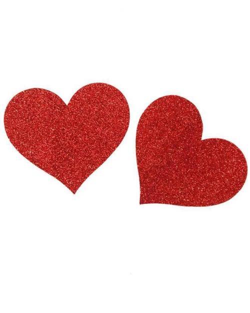 Wanita ozdoby na bradavky srdce červené