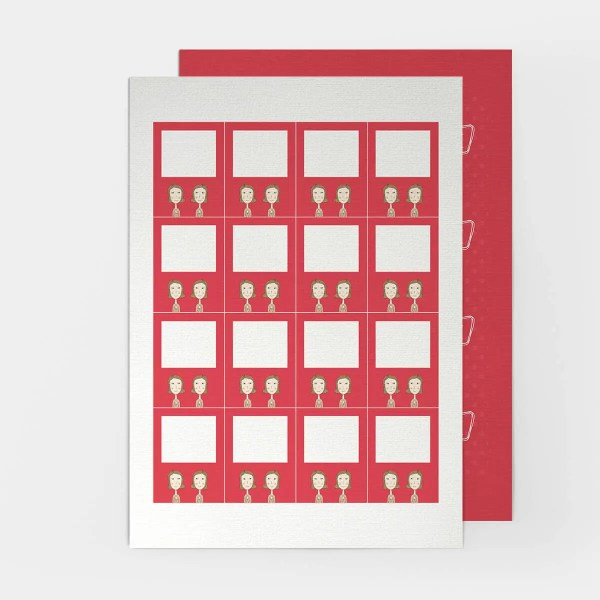 leere LOVE Spielkarten für das Sexspiel für lesbische Paare