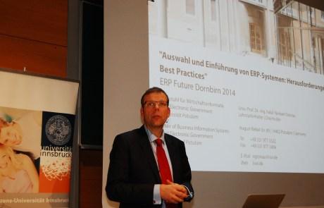 ERP Summit 2014 Dornbirn Norbert Gronau Auswahl und Einführung von ERP-Systemen
