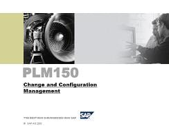 PLM150 Change and Configuration Management - ERPDB