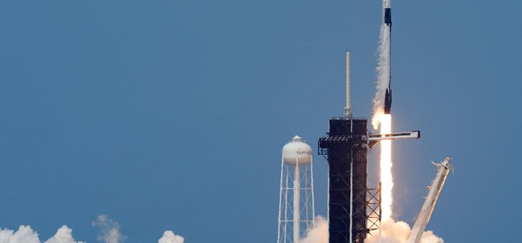 SpaceX and NASA Launch to Station