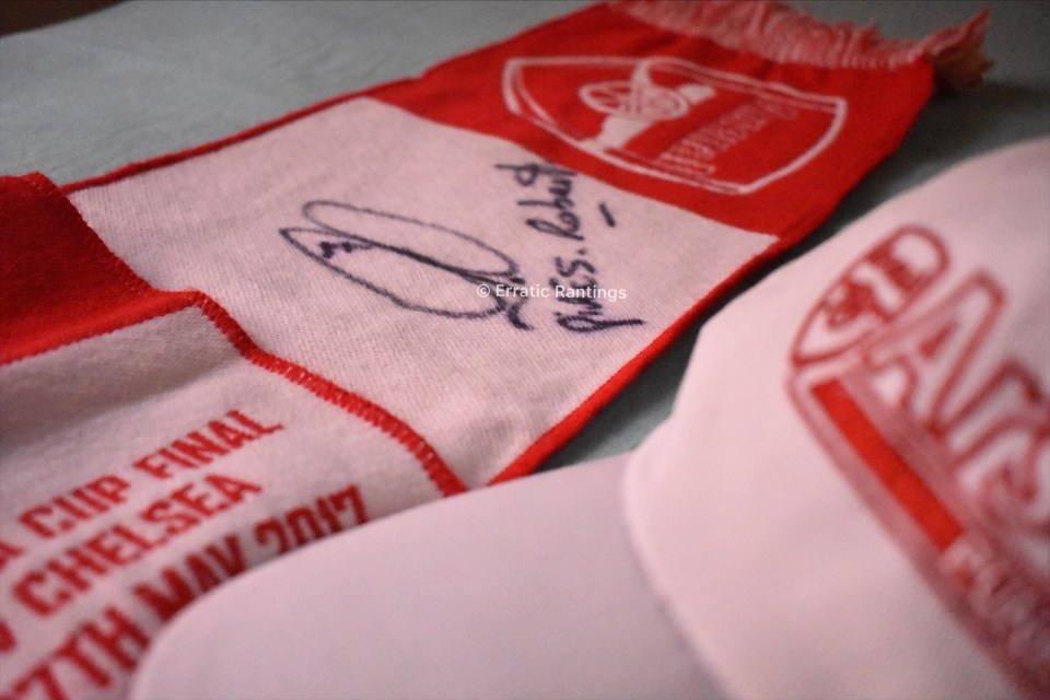 See that Pires signature number? That's from his special collection