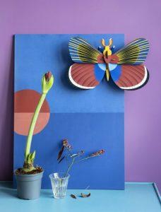 3d object - R nel bosco - Giant Butterfly