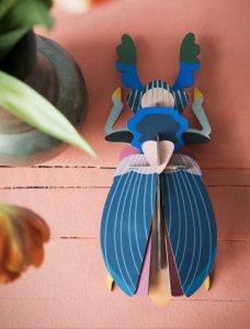 3d object - R nel bosco - Japanese Beetle