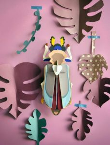 3d object - R nel bosco - Tiger Beetle (1)