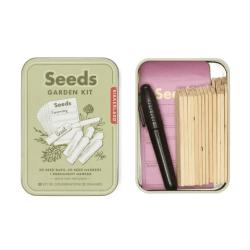 seed garden kit - collezionare semi - giardinaggio - R nel bosco