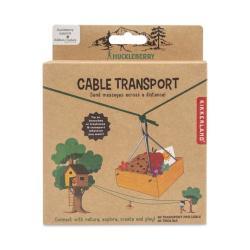 carrucola a filo - huckleberry cable transport - R nel bosco