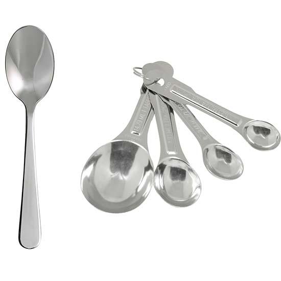 Teaspoons Tablespoons Amp Dessertspoons