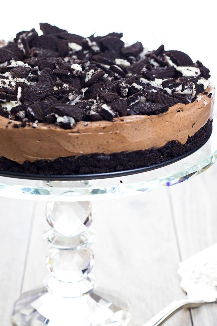 No Bake Chocolate Oreo Cheesecake Erren S Kitchen