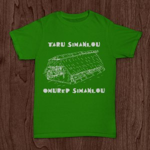 T-shirt promoting simanlou traditional governance system