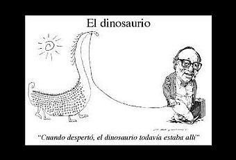 El dinosaurio, microrrelato de Augusto Monterroso