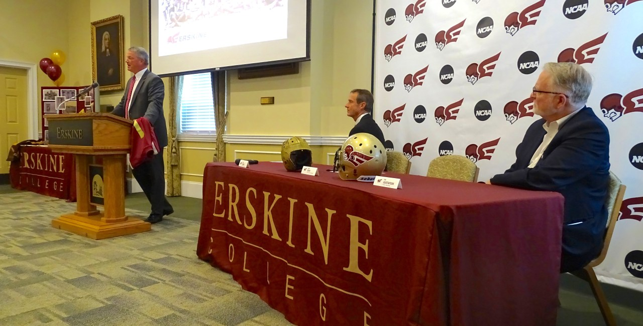 Erskine College Names First Head Football Coach Since 1951