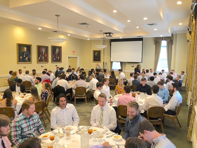 'Etiquette Dinner' Brings Students To The Table