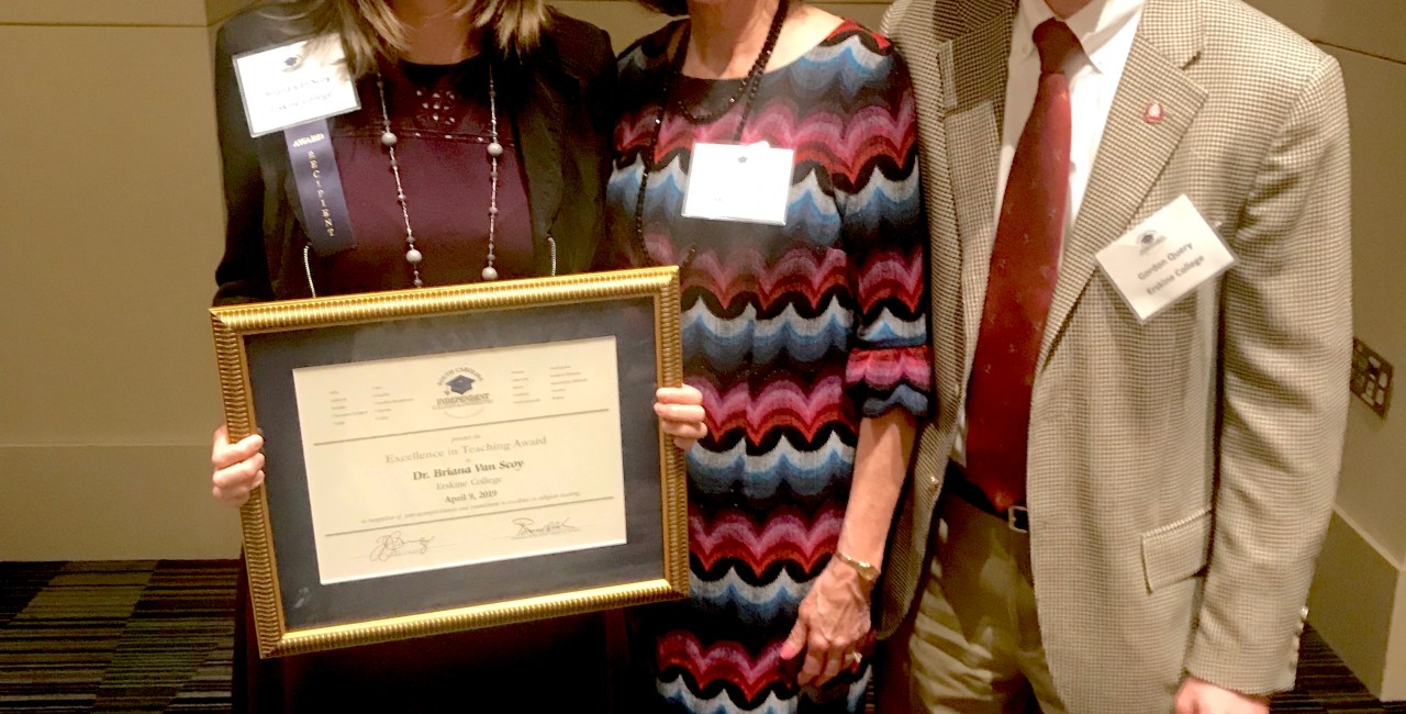 Psychology Professor Honored By SCICU