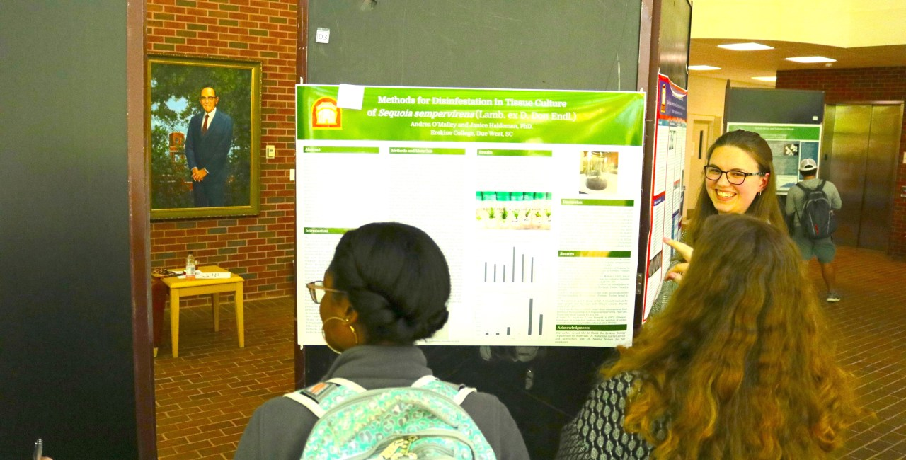 Undergraduate Symposium Spotlights Students' Work