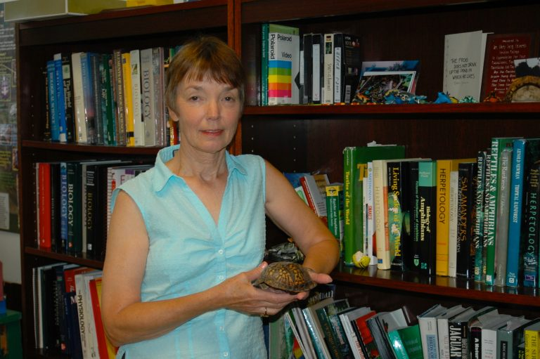 Mary Lang with turtle shell ed. jg