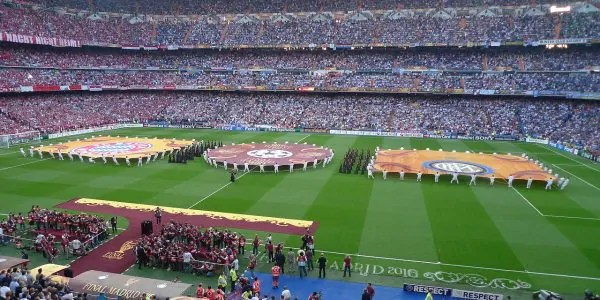 11 famous football stadiums, #9 is particularly interesting