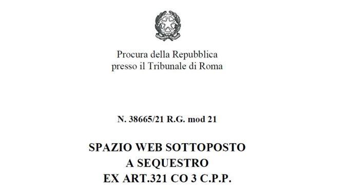 Ιταλία: Η Εισαγγελία της Ρώμης κατέσχεσε την ιστοσελίδα του νεοφασιστικού κόμματος Forza Nuova