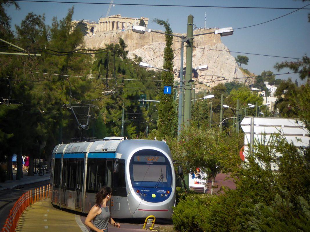 Αποκαταστάθηκε η κυκλοφορία συρμών του τραμ σε όλο το δίκτυο στην Αθήνα