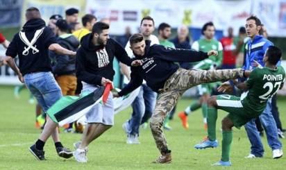 Ξύλο για την Παλαιστίνη στο Μακάμπι Χάιφα - Λιλ
