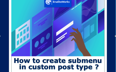 Add Sub Menu in Custom Post Type