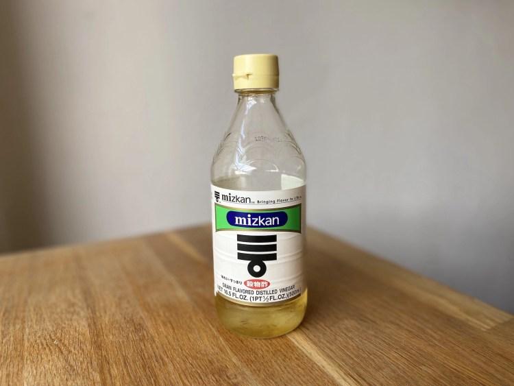 Basis ingrediënt: rijstazijn