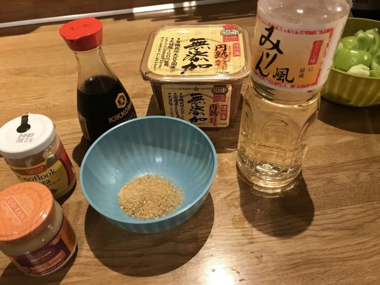 Basis ingrediënten van de Japanse keuken