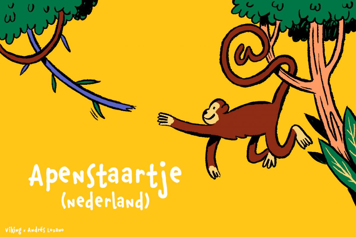 Apenstaartje in Nederland